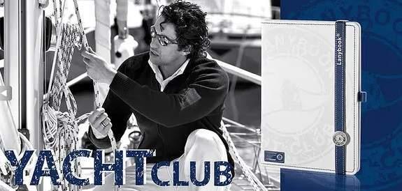 YACHT CLUB, lanybook A5, nelinkovaný, bílý