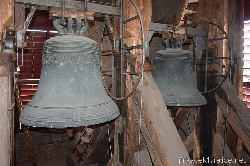 Bozkov -  kostel Navštívení Panny Marie - zvony
