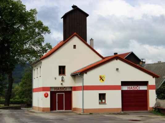 Pěkné zázemí hasičského sboru Záblatí