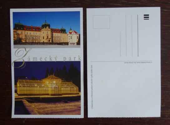 Vstupné je spíše symbolické a navíc je součástí vstupenky pohlednice.