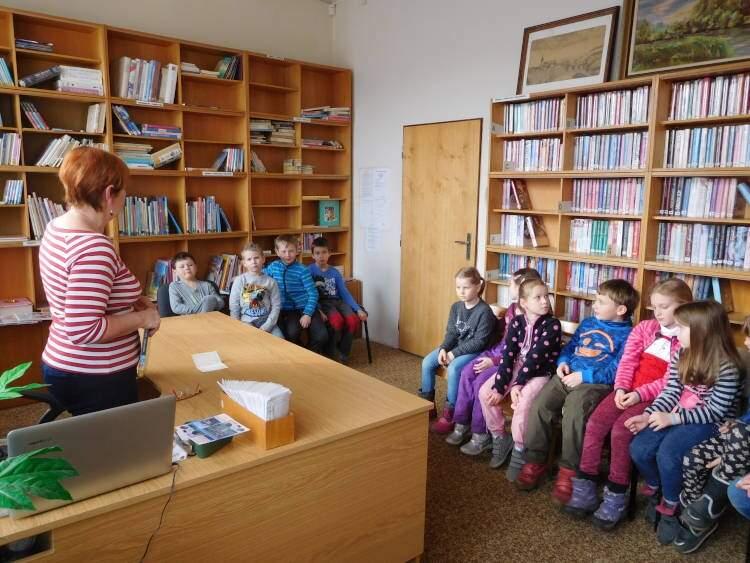 Návštěva stonařovské knihovny
