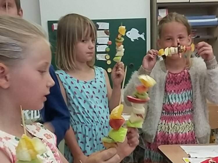 Ovocný den v 1.třídě