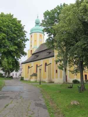 Horní Blatná - Město Horní Blatná vzniklo podobně jako většina okolních obcí na začátku 16. století kvůli těžbě železné rudy a cínu.