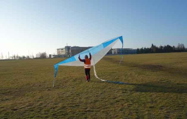 První test nebo spíš hledání větru :o)))