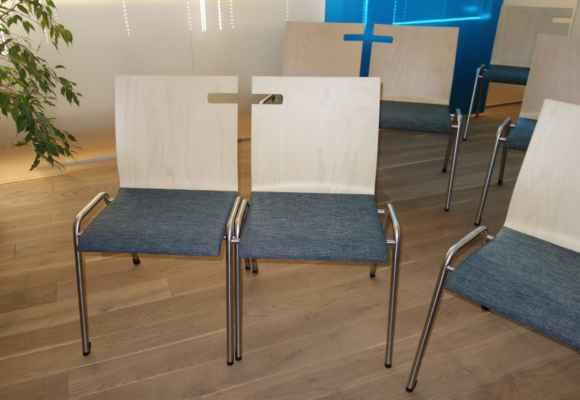 Zajímavě řešené židle.
