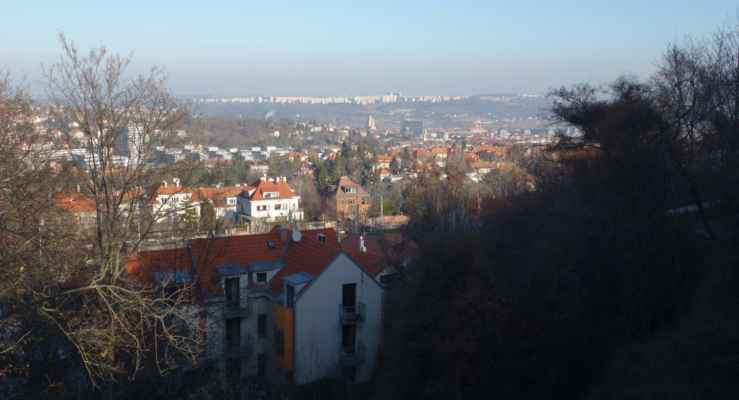 Severní část Prahy jak na dlani.