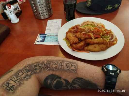 Lasardopictures 2020 - Po dlouhé době,po koronavírusu poprvé znova v mé oblíbené restauraci v Plzni dne; 23.6.2020. Ahoj Lidičky.Jídlo M8 anebo,,Kuře tajemné chutí,,+ rýže a Coca Cola za 121 Kč. Doporučuji všem tu čínskou restauraci,,Ju Feng Yuan,,v Rooseveltové ulici v Plzni.Ahoj. »*« * Dne: 23.6.2020/úterý(V 14:44 h.,jsem si to objednal a v 14:47 h.,už jsem to měl před sebou na stole.A bylo to moc suprové jídlo. Super obsluha a jídlo za mně 10 hvězdiček.Paní je tam vždy milá a vždy se hezky usmívá.) * All Rights Reserved Photo: Lasardopictures  * Fotoaparát: Xiaomi Redmi Note 8 lite »*« *www.sisiangelswhitegabriela.estranky.cz *www.lasardopictures.webnode.cz * JT81 R.I.P hudba -www.youtube.com/playlist?list=PLALJeiPjfjpZFiG27SmrhQfsdprHyB4Dc*http://m.onlineradiok.com/petofi *www.forest1981.estranky.cz  »*« #TJ81fotografie #LasardoPictureS #rok2020  #Plzeň #Dodi2020 #pilsen #JuFengYuan #ČR #vRooseveltovéulicivPlzni #FotoTJ81 #mnam #Kuřetajemnéchutí #rýže #CocaCola #mňam #mojetattoo #tetovalt #tattoo #Doporučuji #v #čínskourestauraci #mňamka #mytatto #hm  #činskarestaurace #neumimcinsky #neumím #MrBustaTattoo #kaligrafie #čínskákaligrafie »Nejhorší nepřítele najdeš až v sobě.« Dne: 23.6.2020  z mých dat od Vodafonu./Plzeň