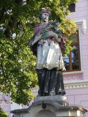 Sv. Jan Nepomucký ve Stráži nad Nežárkou.