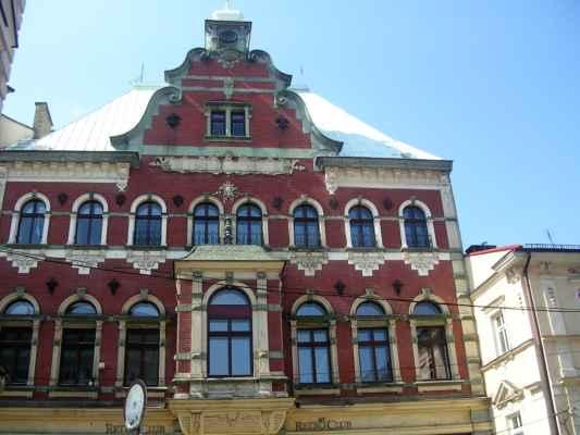 Bývalý Německý dům (Deutsche Haus) v polském Těšíně - Nizozemská novorenesance