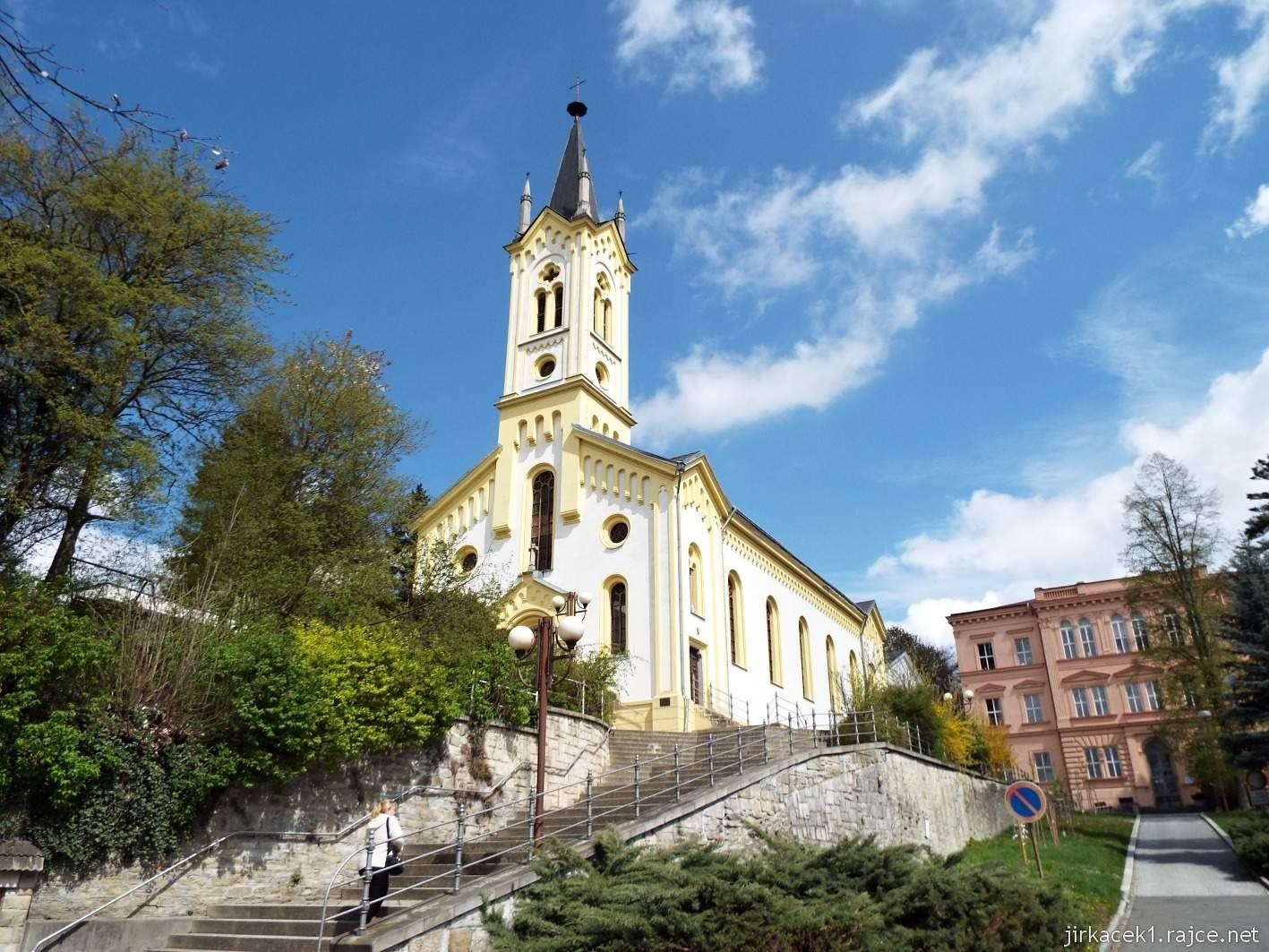 Vsetín - Evangelický kostel Dolního sboru