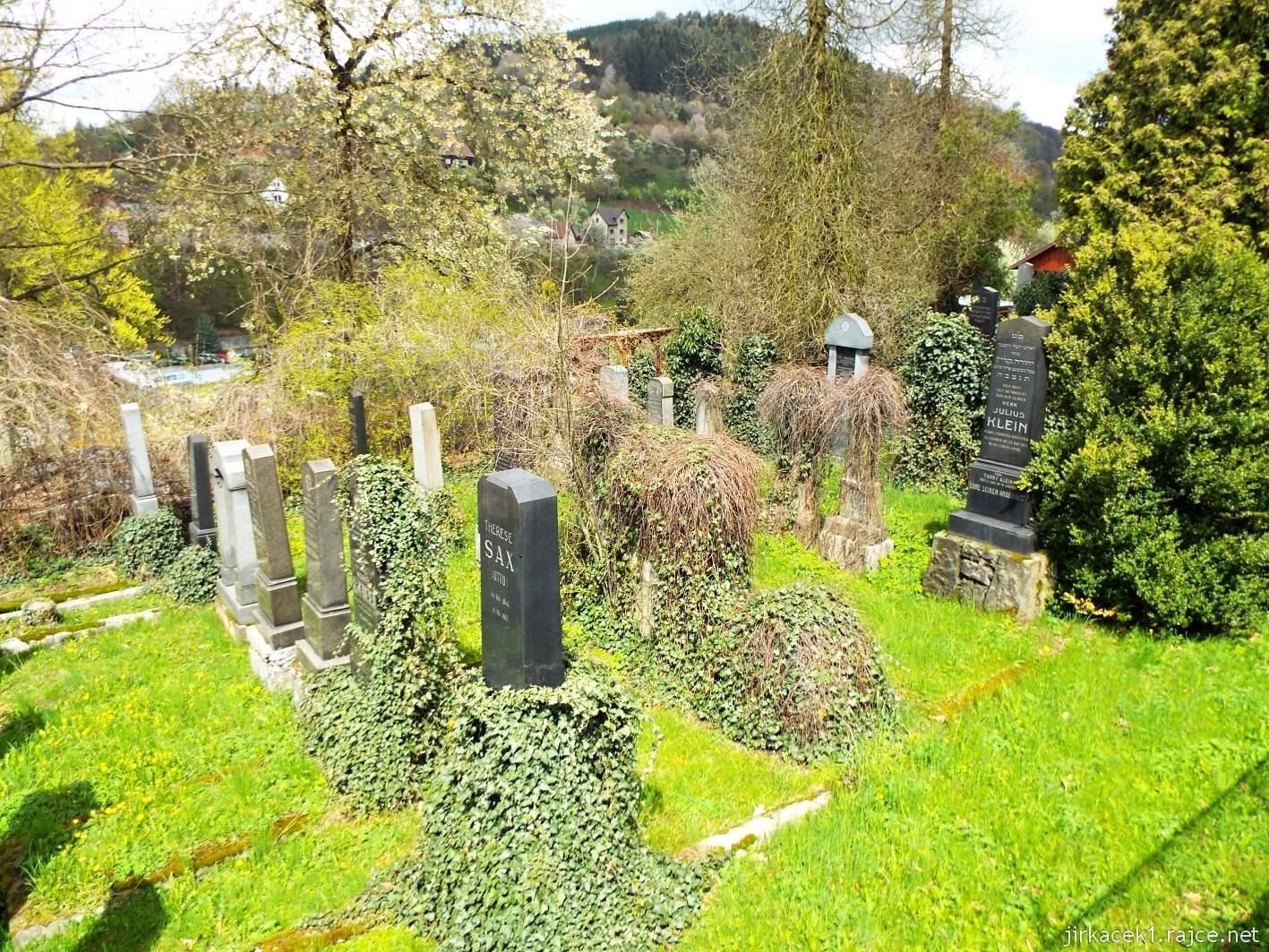 Vsetín - židovský hřbitov
