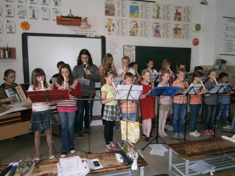 Závěrečný flétnový koncert pro rodiče