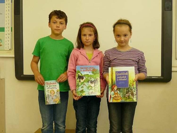 Čtenářská soutěž ve 2.třídě