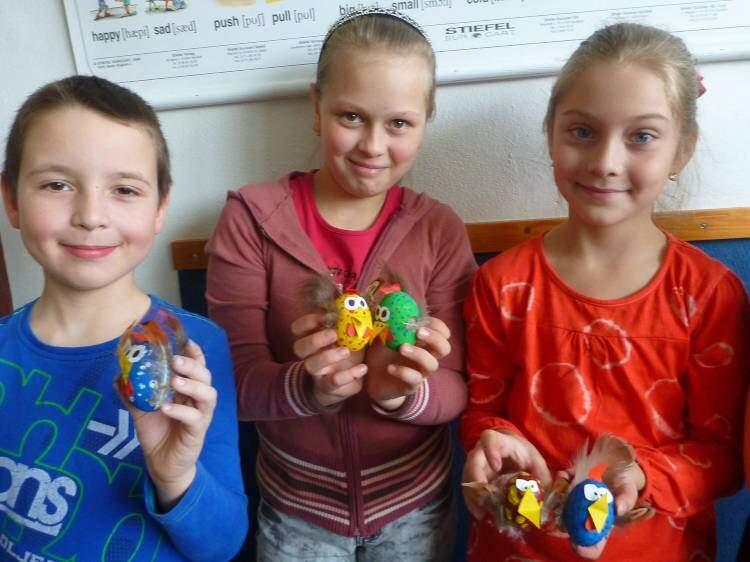 Velikonoční tvoření ve 3.třídě