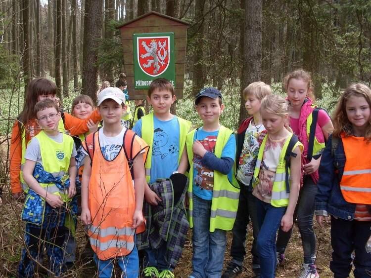 Výlet školní družiny za bledulemi
